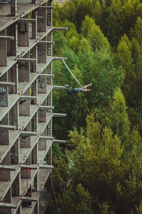 Прыжки со Здания — Пятерочка