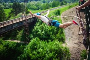 Прыжки с Моста - Манихино