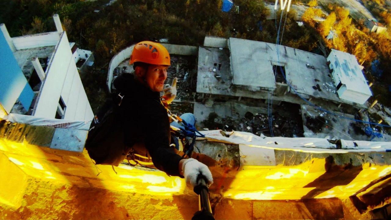 "Видео с Монода GoPro для ""bungee jumping"""