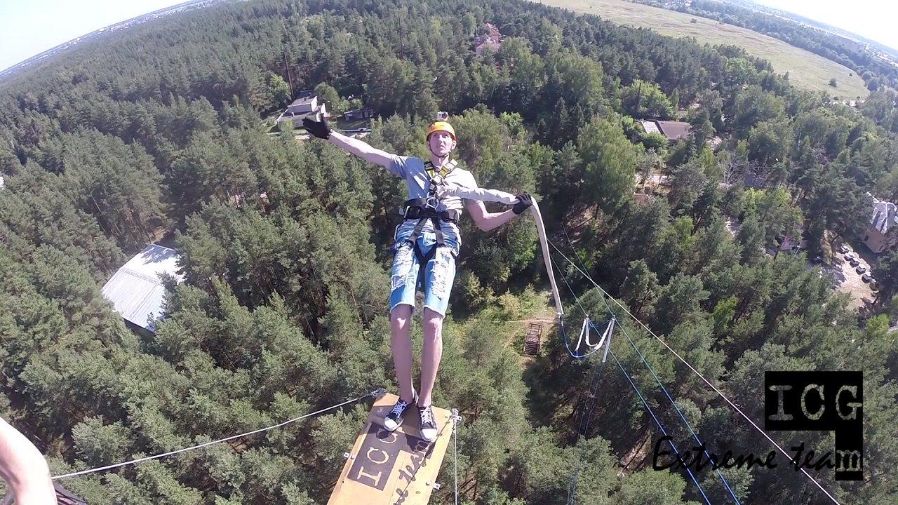Корпуса прыжки с веревкой роупджампинг с 50 метров