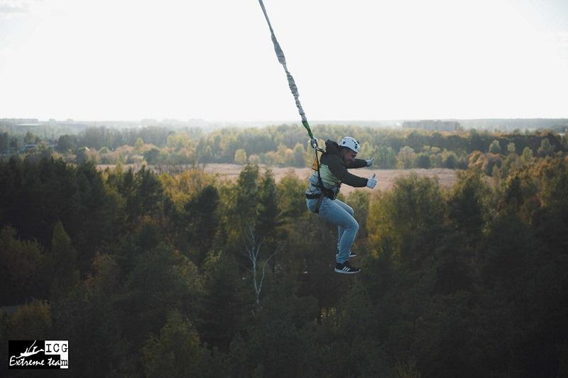 """Прыжки с вышки в Московской области - """"bungeejumping"""""""
