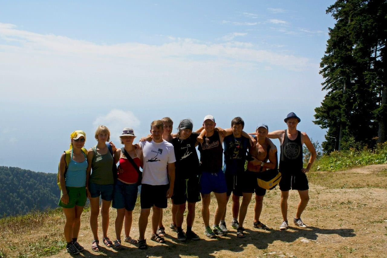 ICG Extreme team (ropejumping) в горах