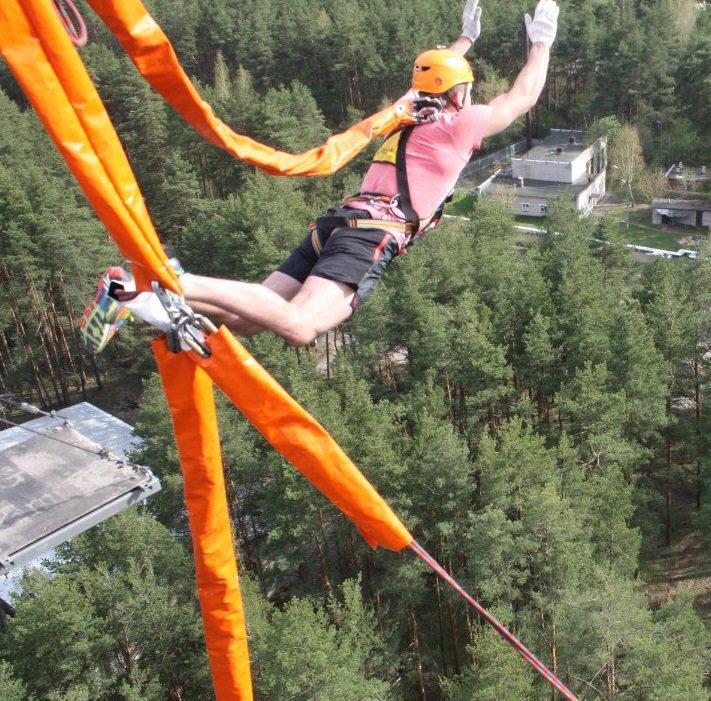 Прыжок с вышки Корпуса 50 метров майские праздники