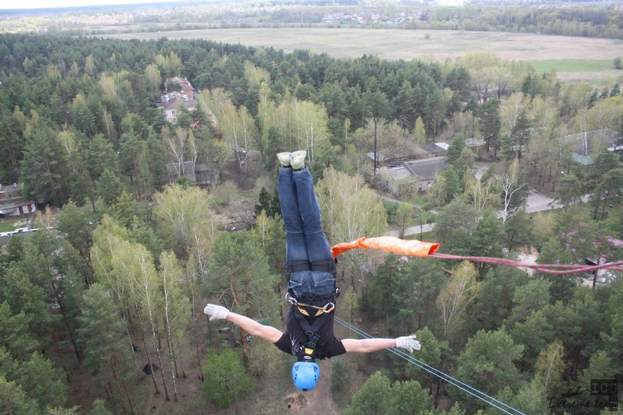 прыжки с корпусов