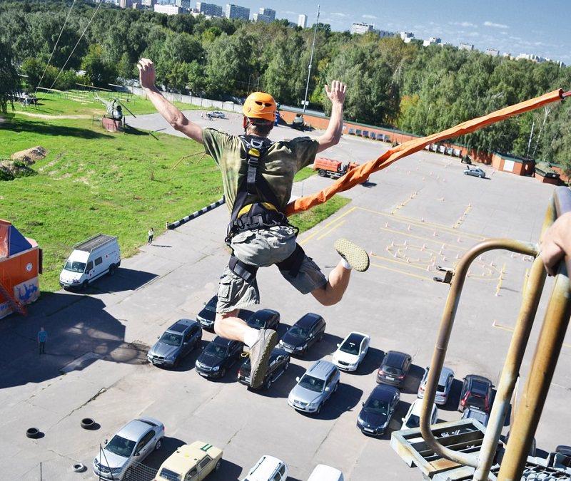 Прыжки с веревкой в Москве