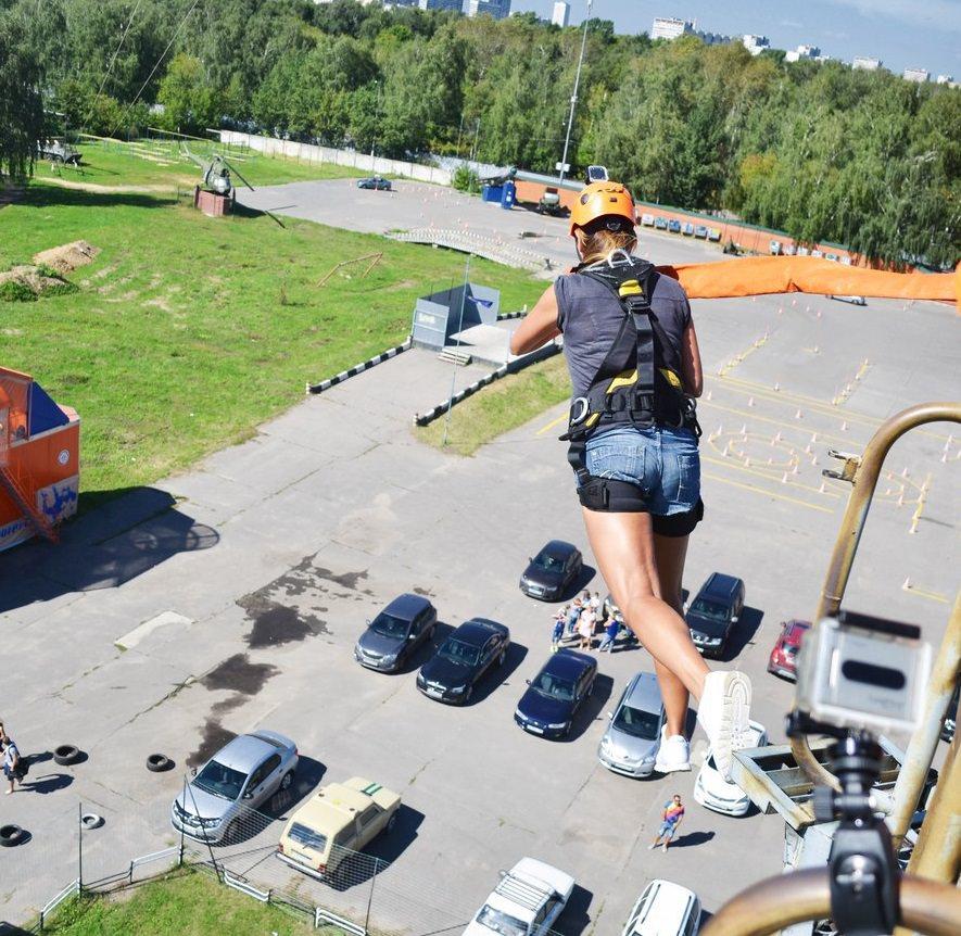 RopeJumping Москва вышка 23м