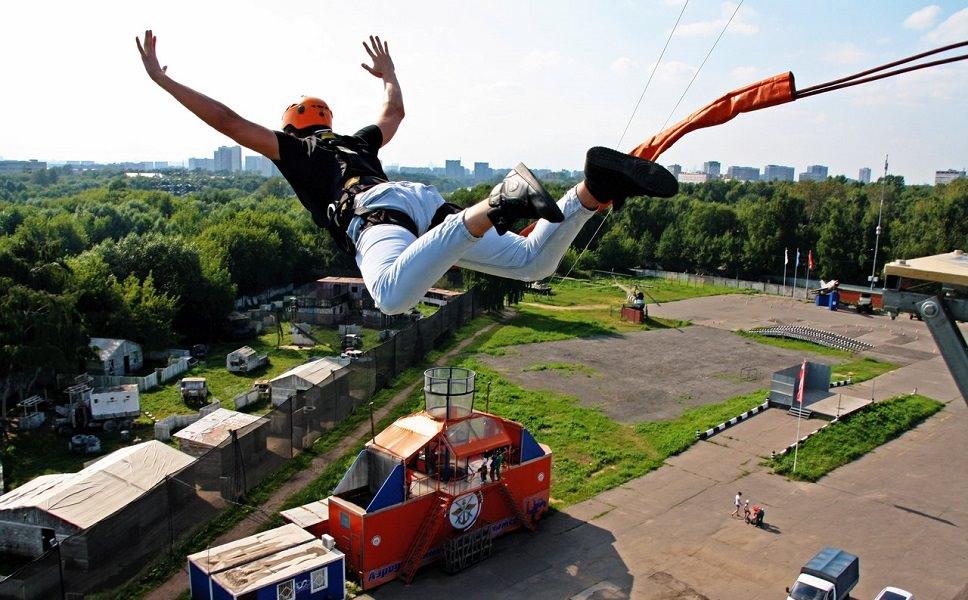 Роупджампинг Москва вышка KRC 24 метра