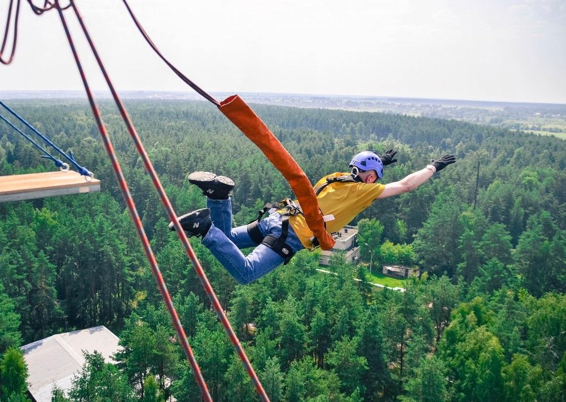 Ropejumping Вышка Корпуса 50 метров