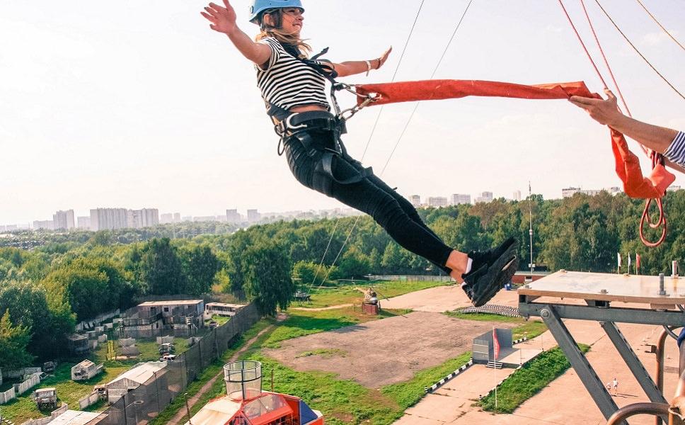 Прыжкок с веревкой - Москва