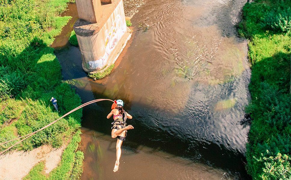 RopeJumping Мост Манихино 25 метров