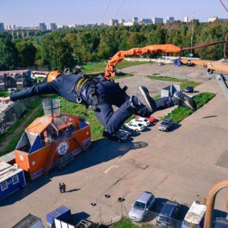 Роупджампинг в Москве