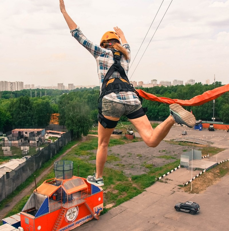 ropejumping KRC Москва