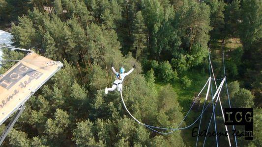 Андрей & Эрика - прыжки с веревкой